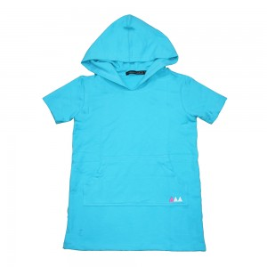 18GD1K012 KF HOODED TERRY DRESS 18-033