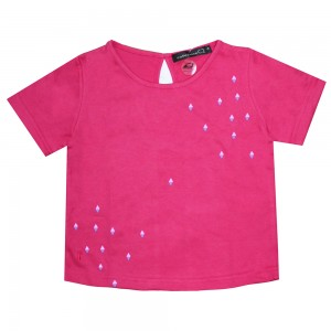 18GT3K003 DIAMOND PRINT AT FRONT KIDS TOP 18-034